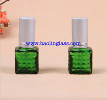 Green Pocket Perfume Bottle Travel Refillable Perfume Atomizer Spray Bottle 5 ml Mini Cosmetic