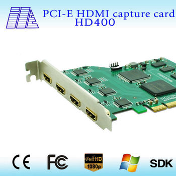 professional wholesale PCI-E 4CH HDMI capture card for xbox 360