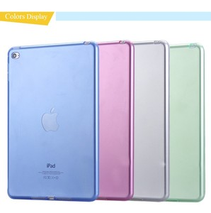 Transparant Slim Thin Cover for iPad Mini 4 Case Soft Silicone Gel Crystal Clear Back Funda Cases