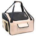 Folding Cat/Dog Car Seat, Portable Dog Carrier Bag