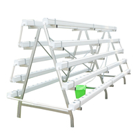 Greenhouse Hydroponics Tower System For Agriculture
