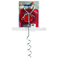 Dog tie out stake and cable LE067