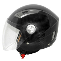 2015 hot selling Carbon Motorcycle helmet Carbon fiber open face helmet