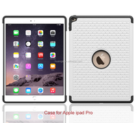 Cell phone accessory cellphone hard pc silicone tpu hybrid diamond case hybrid case for ipad pro 12.9 china wholesale