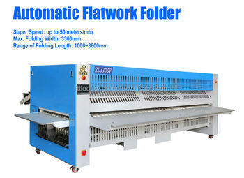 Flatwork automatic Folding Machine with 5 folds for bed sheet