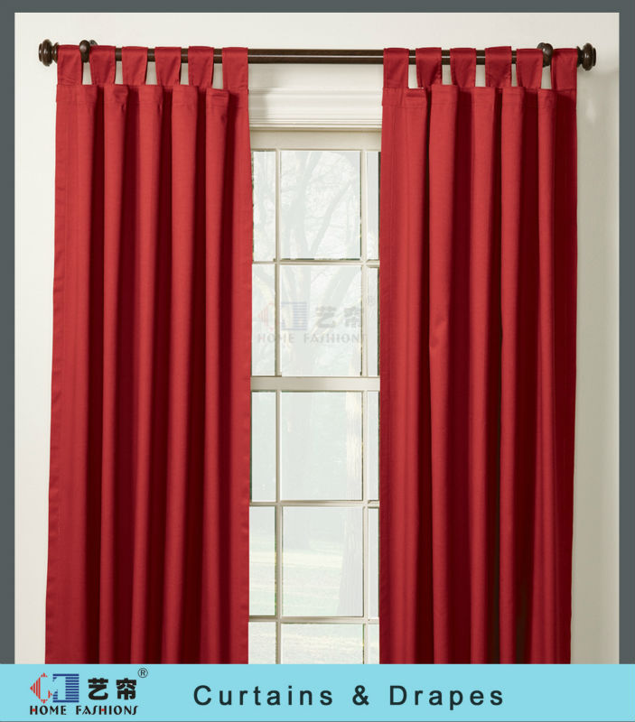 Simple and Decorative Window Curtains
