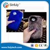 rabbit fur phone case for iphone 6 6s 6s plus 7 5s 4s Samsung galaxy s6
