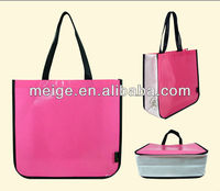 Customized non woven tote bag/polyester tote bag/m&m tote bags