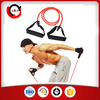 natural rubber fitness resistance band rope tube