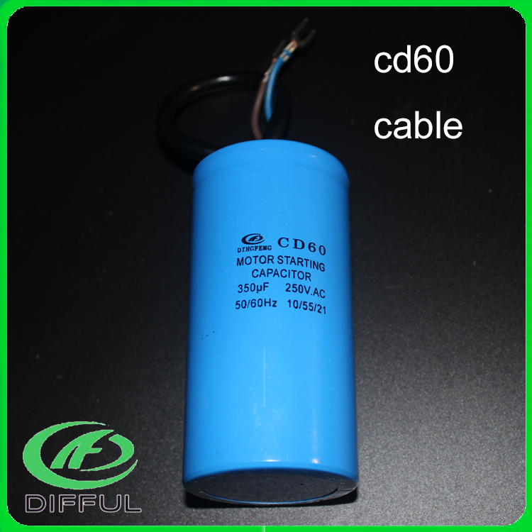 cd60 50/60hz 100uf 450v ac aluminum electrolytic capacitor