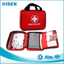 FDA CE ISO approved Optional Medical Content First Aid Kit Wound Care Kit for Car Home Hotel Travel School