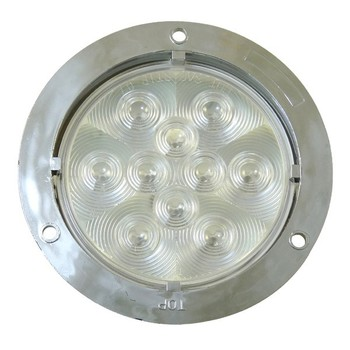 "High Quality 4"" Round LED White Back Up Light"