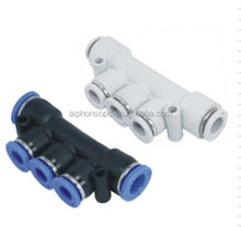 Pneumatic Components-PK Five Way Pipe Fitting PK4~PK10