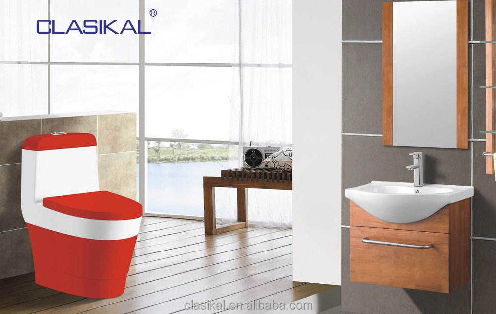 color toilet and color toilet bowl for bathroom sanitary ware