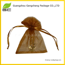 New promotion style custom logo organza pouches organza bags butterfly