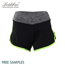Hot sale fashion design outside sports fitness ladies shorts
