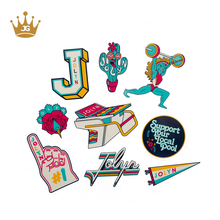 Custom high quality printing die cut sticker pack with your logo