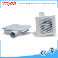 toyon 220v bathroom exhaust ceiling fan in plastic box