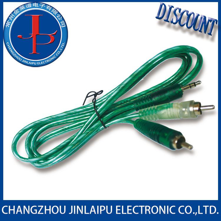 JINLAIPU audio video av composite 3 rca cable from China famous supplier