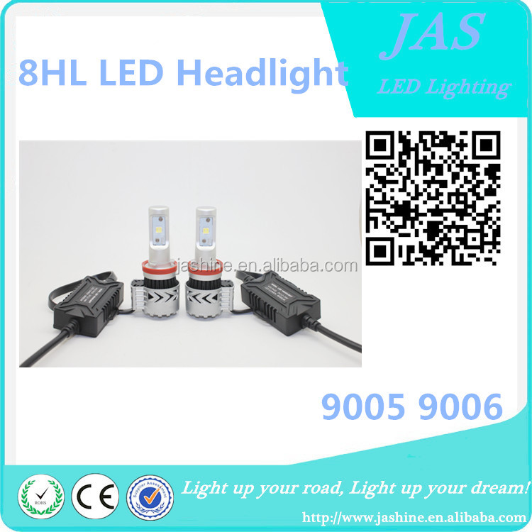 auto led headlight 12000LM Competitive price auto parts powerful light hi/lo beam 12v led headlight