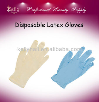 Nail Gloves Disposable Latex Gloves