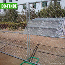 hot sale construction site temporary fencing / temporary fence factory / galvanized temppray fence