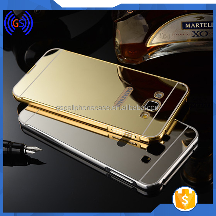 China Supplier,For Samsung Galaxy Note 2 Ultra Slim Back Cover Case Mirror Housing Case