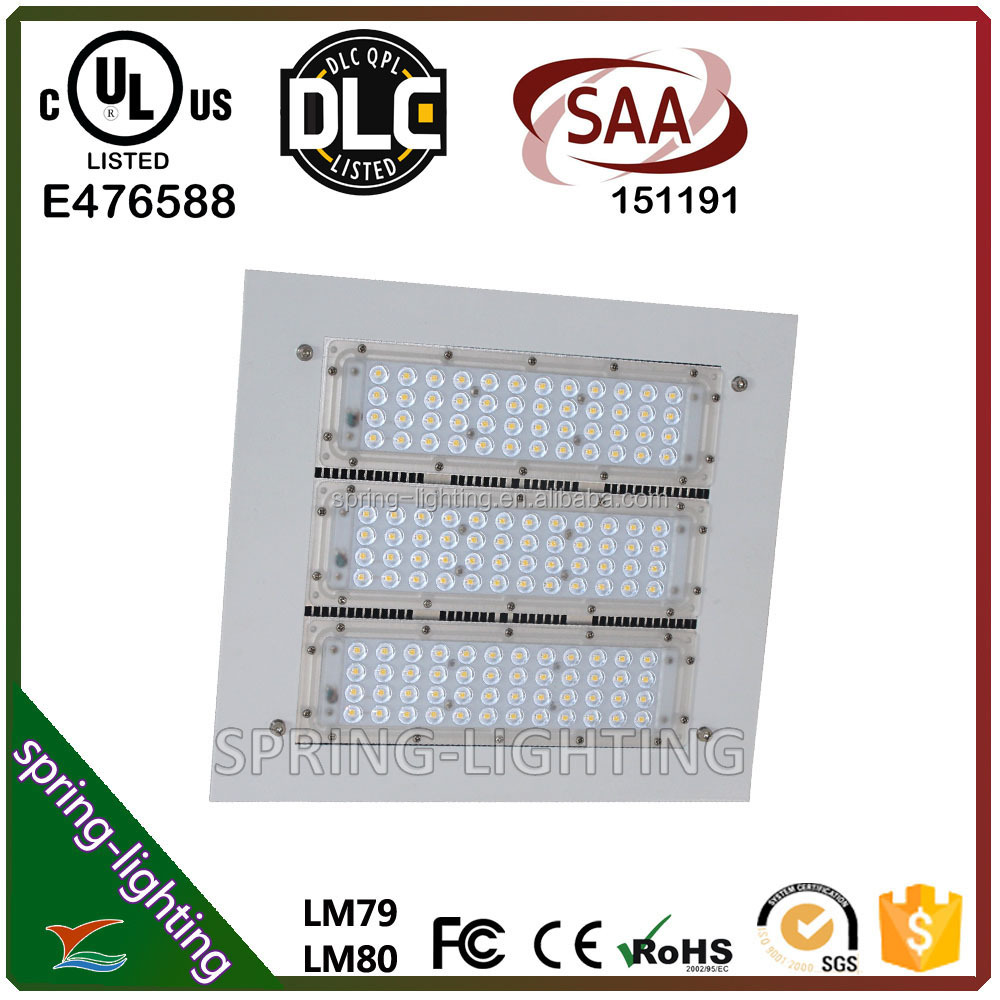 UL DLC Listed Modular 120w 150w High Bay Gas Station LED Canopy Lighting