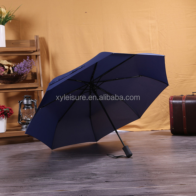 custom logo 3 fold automatic umbrella