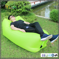 2016 popular easy outdoor beach inflatable air cushion sofa