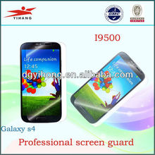 2013 hot sale clear screen protector film /guard /shield/ for galaxy s4 i9500
