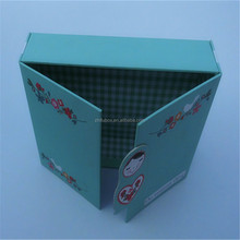 Shaped Custom Cardboard Gift Printed Cosmetic Magnetic Paper Box Packaging