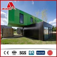 Aluminium composite panel for container house/movable house/protable house