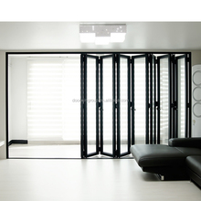 Modern design double glass folding Patio door with great picture view