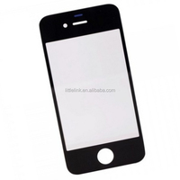 Front Screen Outer Glass Lens Cover Replacement For Apple for iPhone 4 4s Lens