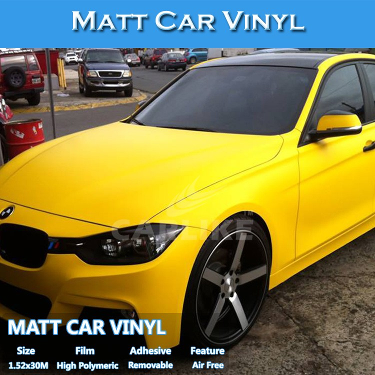 Super Quality Removable Easy Application Matt Body Wrapping Vinyl Film Car Sticker