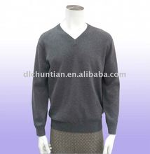 Men's 100% Mongolian Cashmere on sale v-neck Cashmere sweater-our specialty for over 20years