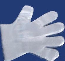 Cheap disposable plastic PE surgical medical gloves