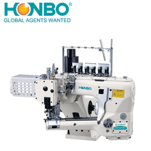 HB-62G-01MS-60D direct-drive 4 needle 6 thread knitting cylinder bed interlock sewing machine