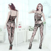 Appealing black lace female sexy lingerie C159