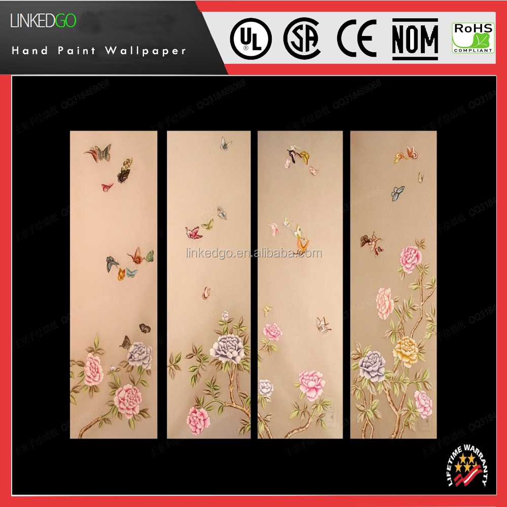 factory direct sales silk decoration wallpaper for hotel