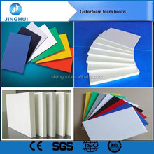 Factory laser engraving high density white 18mm pvc foam board for furniture for exhibition stands