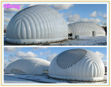 New type inflatable structure tent cover, CE certificate outdoor inflatable dome house tent, inflatable buildings