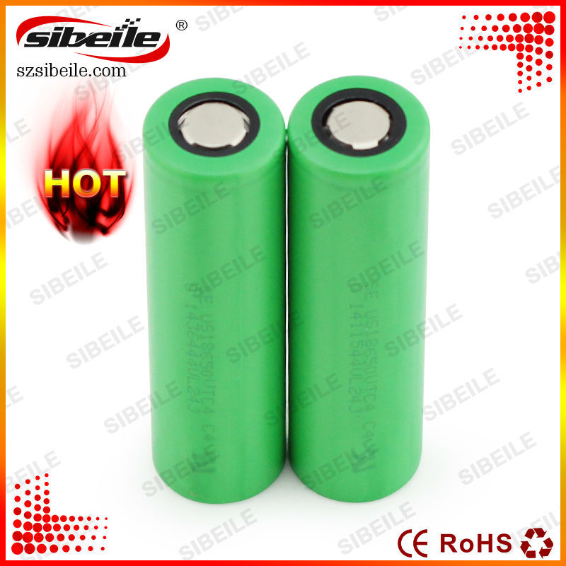 18650 lithium ion battery VTC4 2100mAh Li-ion High Drain Battery Cell for E-cigarettes