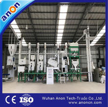 Anon rice mill machiney price of rice mill plant 30-40t/d rice mill