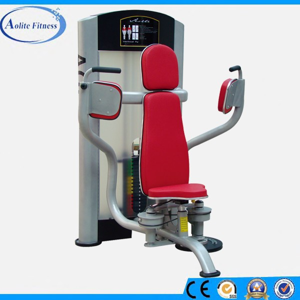 PU Leather Covered Pads Pec Fly Machine for Chest