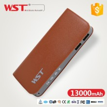 2018 WST Power Bank 13000mah Dual USB High-Energy Mobile Power Supply QC 2.0 Power Bank Wholesale