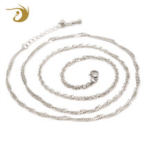 Dongguan Fashion Necklace Jewelry Pendant Small Stainless Steel Chain