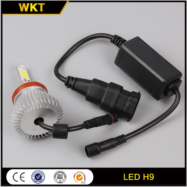 Cost price customized LED H9 auto led lamp bulb set