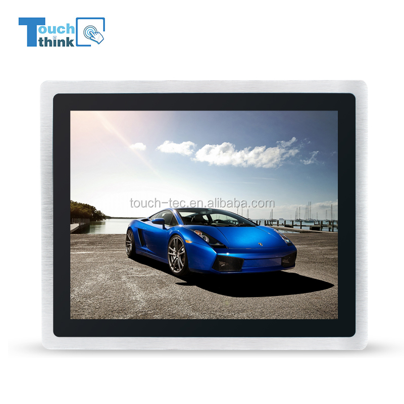 12 inch led panel lcd monitor touch screen monitor